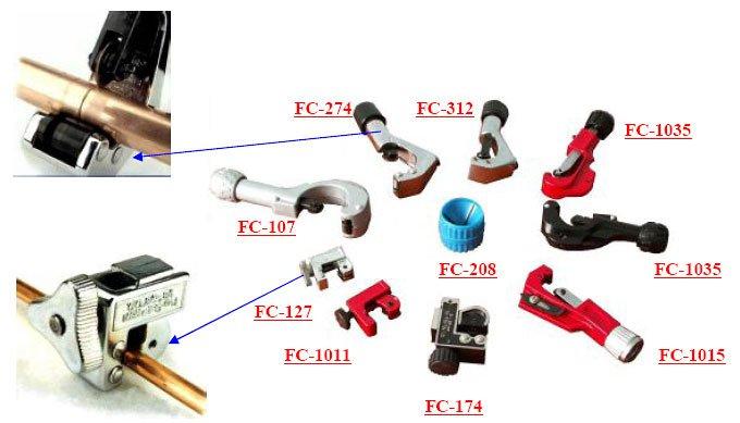 Труборезы, FC-312, FC-1035, FC-1015, FC-174, FC-1011, FC-127, FC-107, FC-274